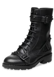 Ash Witch Bis Biker Boots - Black
