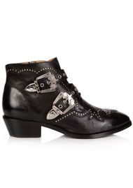 AIR & GRACE Starlight Ankle Boot - Black