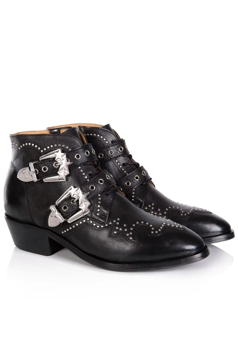 AIR & GRACE Starlight Ankle Boot - Black main image