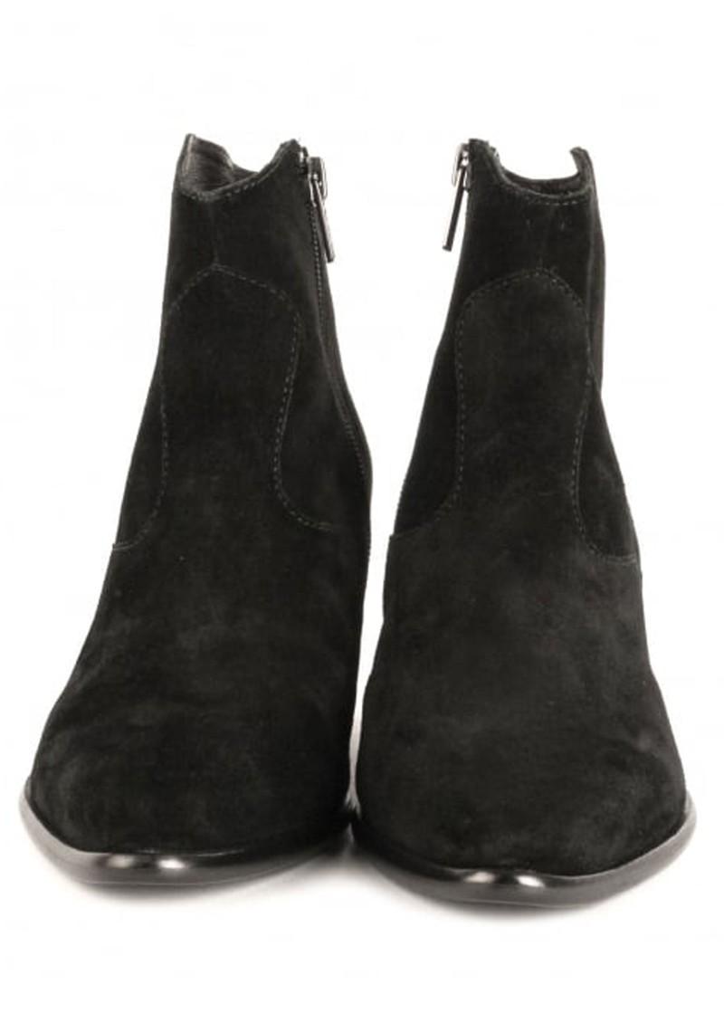 Ash Heidi Bis Suede Boots - Black main image