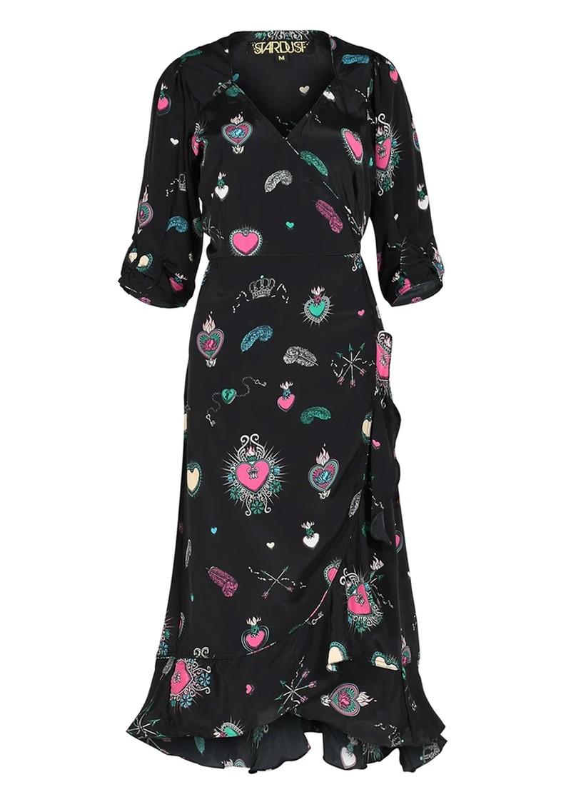 STARDUST Sweetheart Dress - Black Multi main image