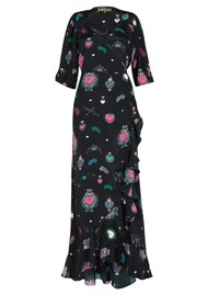STARDUST Sweetheart Flamenco Dress - Black Multi