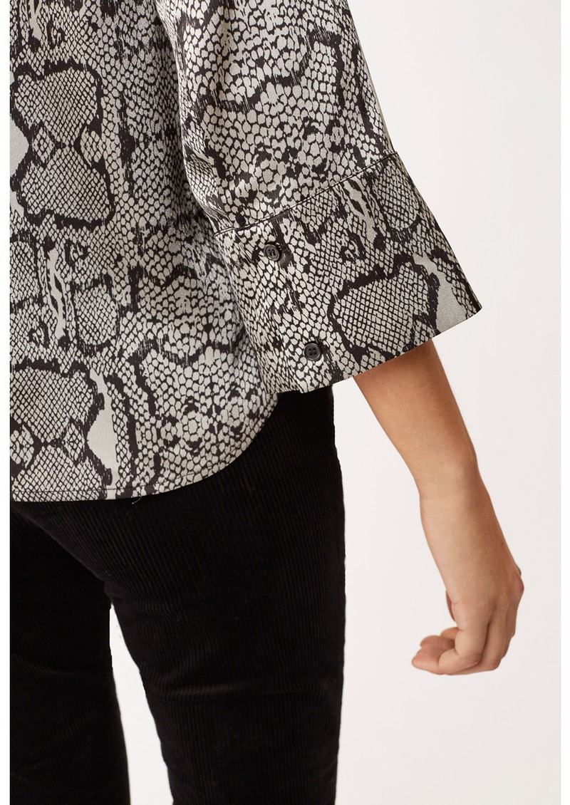 Athena Blouse - Graphic Snake main image