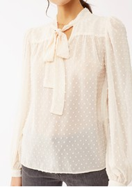 Twist and Tango Deborah Blouse - Ecru