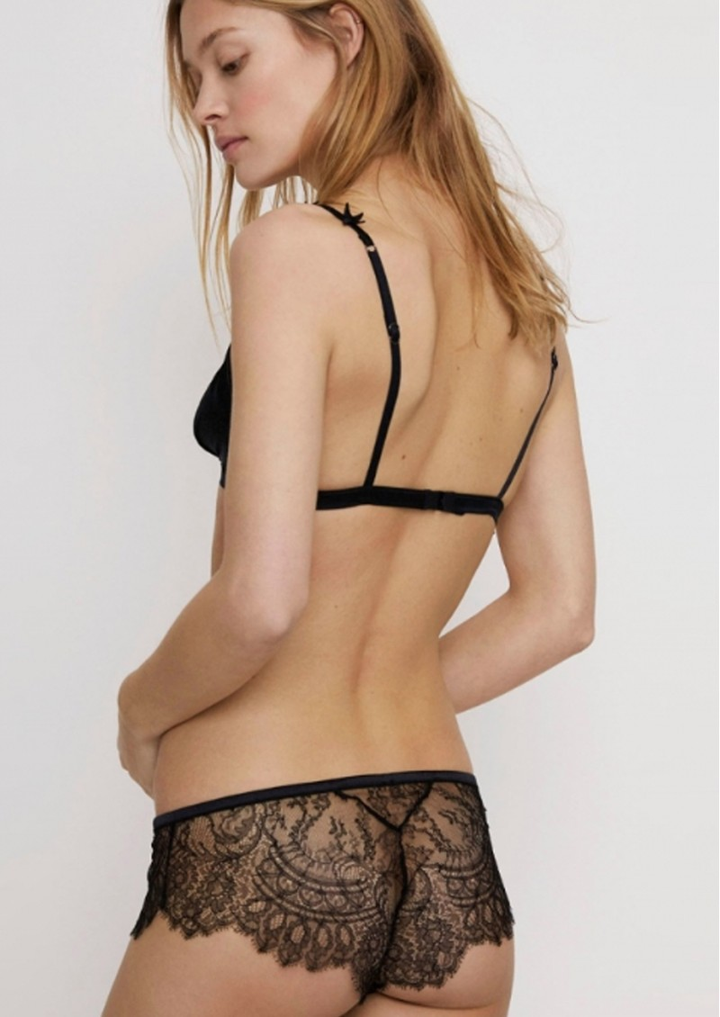 LOVE STORIES Dragonfly Hipster Briefs - Black main image