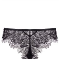 LOVE STORIES Dragonfly Hipster Briefs - Black