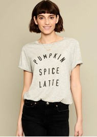 SOUTH PARADE Lola Pumpkin Spice T-Shirt - Grey