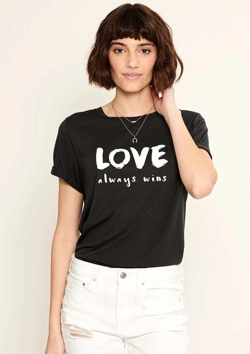 SOUTH PARADE Lola Love Always T-Shirt - Black main image
