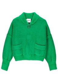 ESSENTIEL ANTWERP Tripping Knitted Cardigan - Bosforus Green