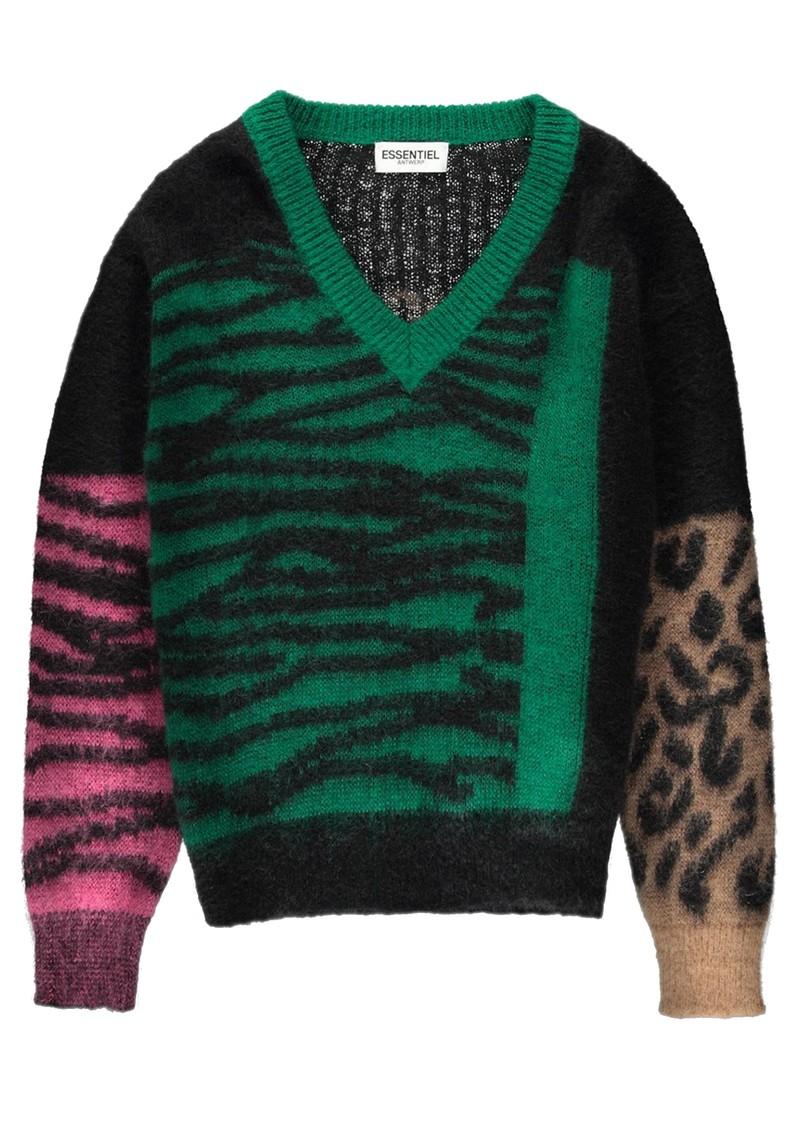 ESSENTIEL ANTWERP Tribolibis Sweater - Bosforus Green main image