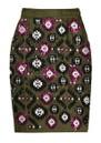 ESSENTIEL ANTWERP Tweedledum Sequin Skirt - Combo 2 Hunter