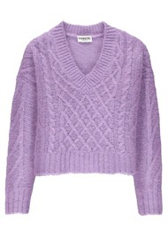 ESSENTIEL ANTWERP Tijoung Sweater - Paisley Purple