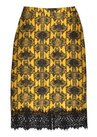 ESSENTIEL ANTWERP Traveller Midi Pencil Skirt - Nugget