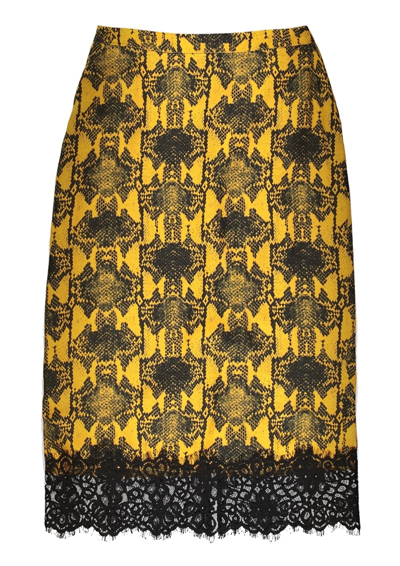ESSENTIEL ANTWERP Traveller Midi Pencil Skirt - Nugget main image