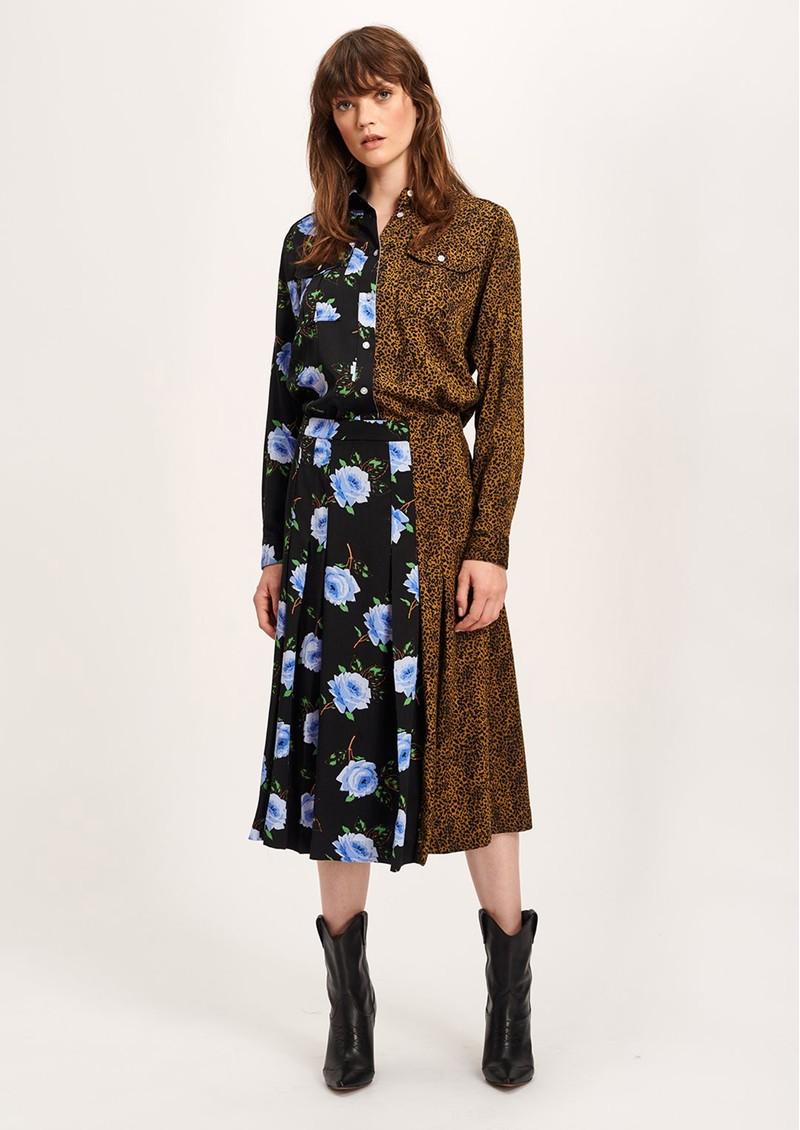ESSENTIEL ANTWERP Threedoorsdown Pleated Skirt - Combo 2 Black main image
