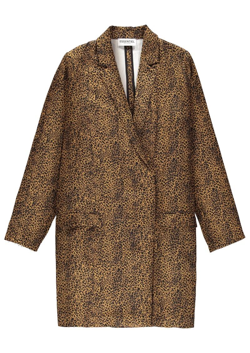 ESSENTIEL ANTWERP Tracy Mini Blazer Dress - Forest Night main image