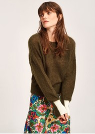 ESSENTIEL ANTWERP Toutou Sweater - Hunter
