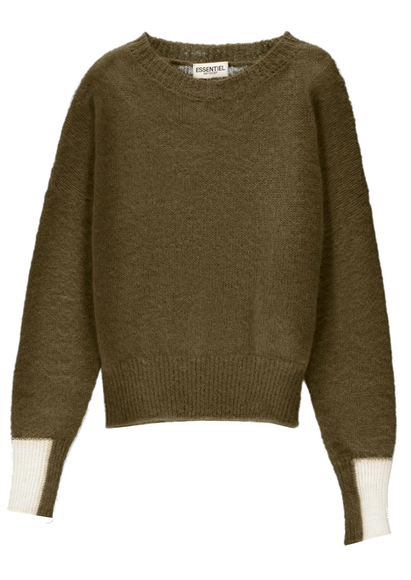 ESSENTIEL ANTWERP Toutou Sweater - Hunter main image