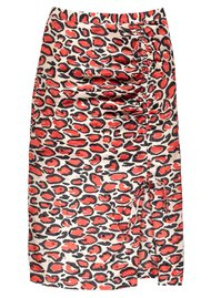 ESSENTIEL ANTWERP Thrasher Silk Printed Skirt - Combo 1 White
