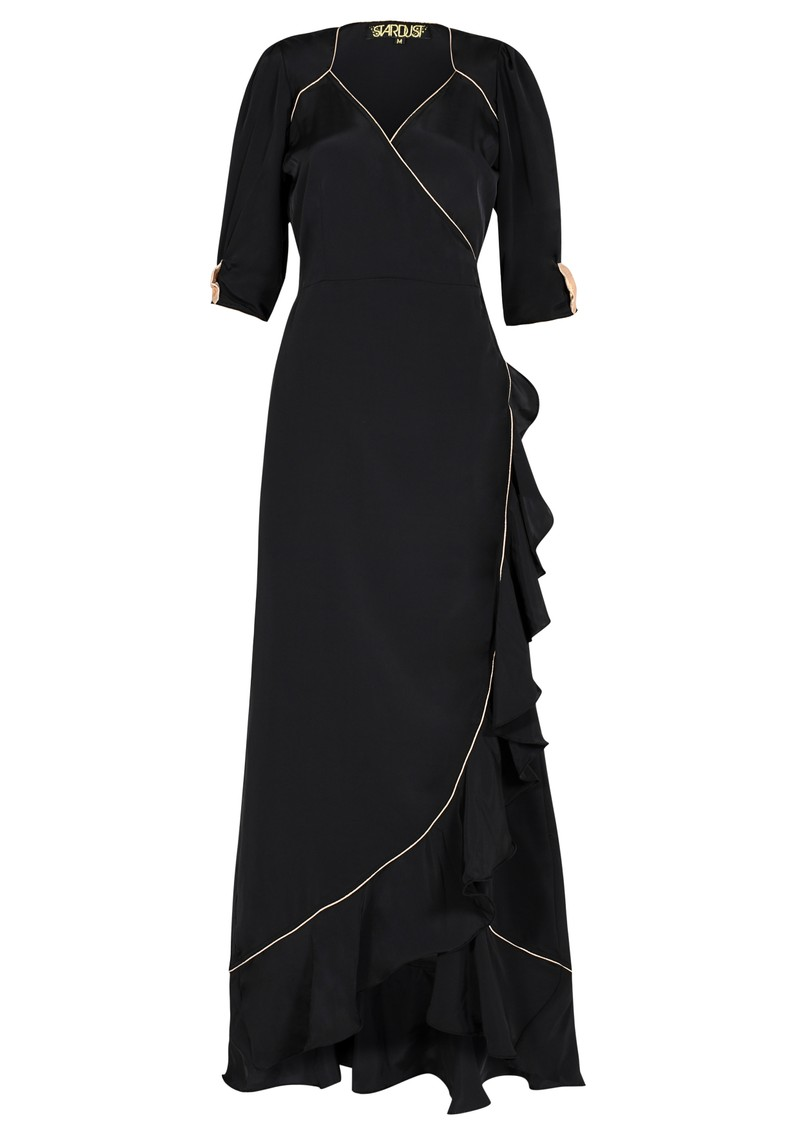 STARDUST Sweetheart Flamenco Dress - Black & Rose Gold main image