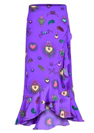 STARDUST Mia Wrap Skirt - Purple