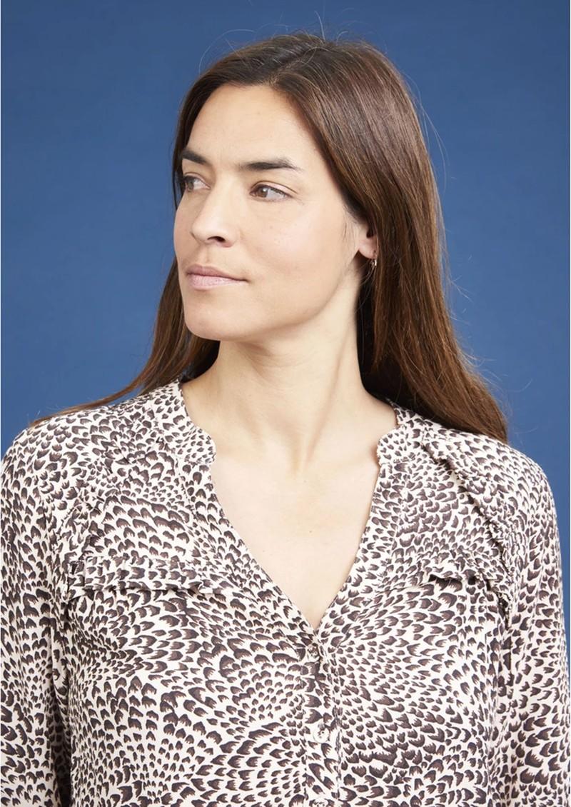 NOOKI Elodie Top - Mini Leopard main image