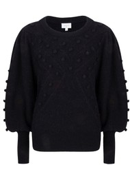 DANTE 6 Eloma Bubble Sweater - Raven