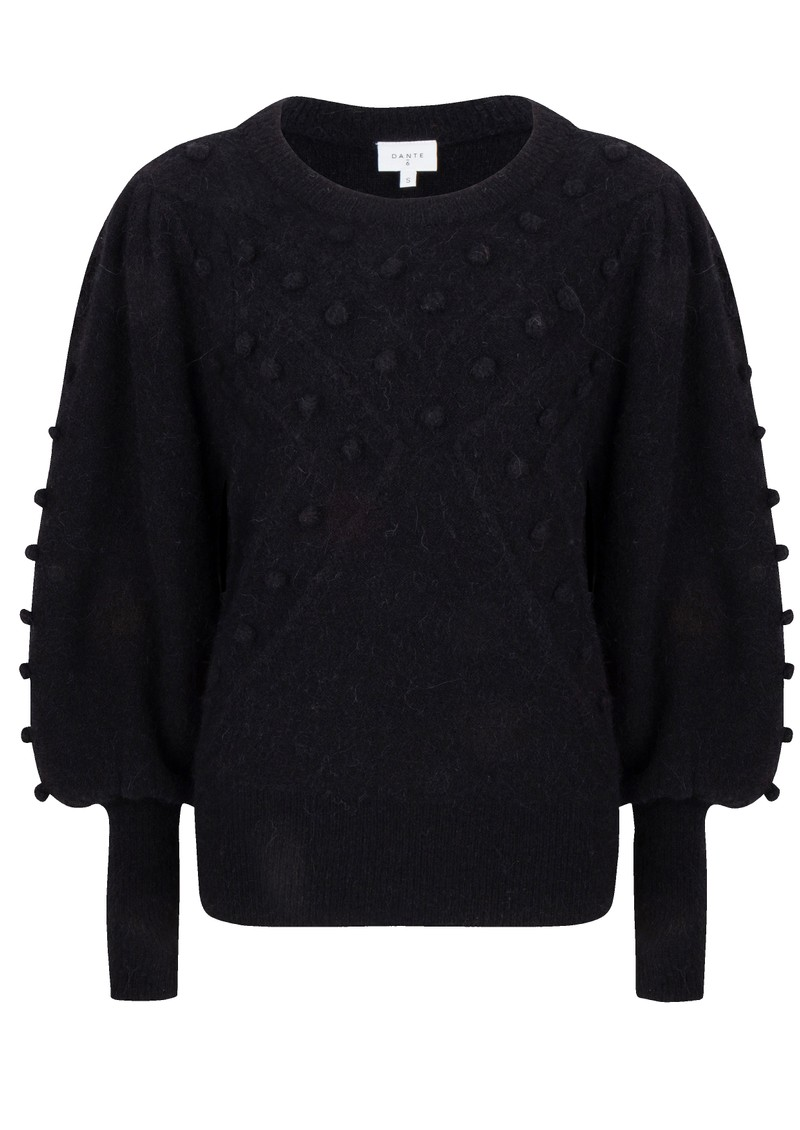 Eloma Bubble Sweater - Raven  main image