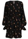 BAUM UND PFERDGARTEN Ariana Dress - Orange Cherry