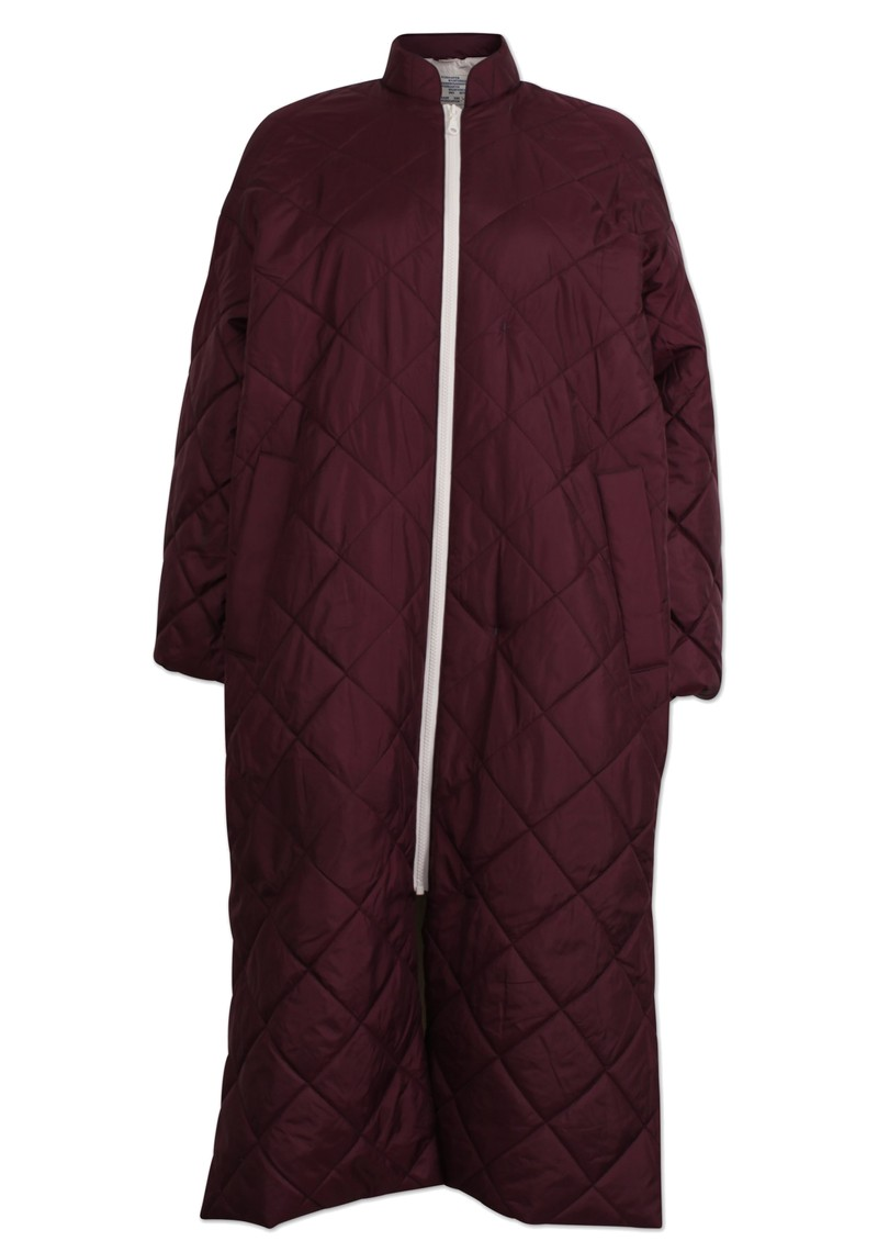 BAUM UND PFERDGARTEN Drea Long Down Jacket - Winetasting main image