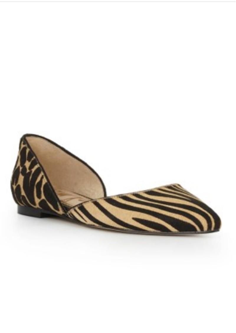 Sam Edelman Rodney Safari Zebra Flat - New Nude main image