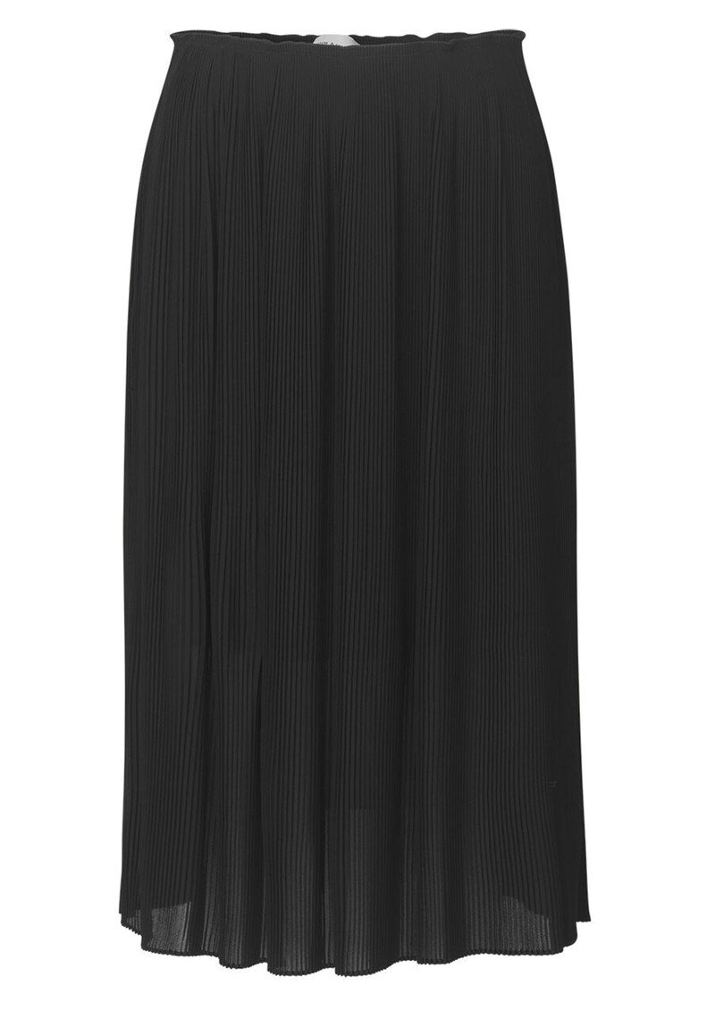 SAMSOE & SAMSOE Lei Long Pleated Skirt - Black main image