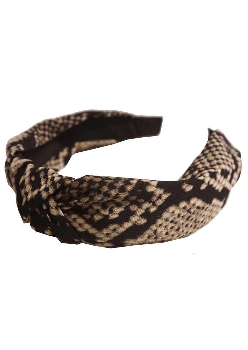 UNIVERSE OF US Snake Headband - Beige main image