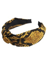 UNIVERSE OF US Snake Headband - Yellow