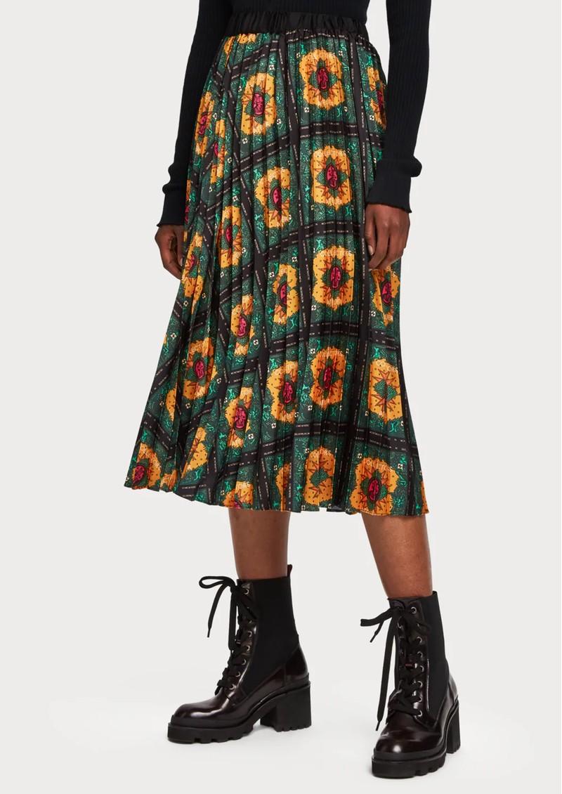 Maison Scotch Printed Midi Skirt - Combo Q main image