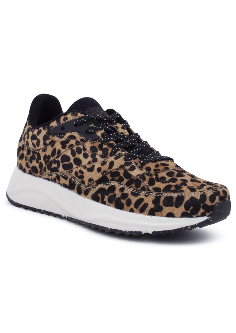 WODEN Sophie Pony Trainers - Leopard main image