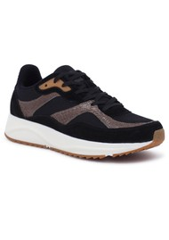 WODEN Sophie Mix NSC Trainers - Black & Brown