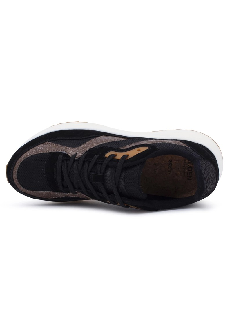 WODEN Sophie Mix NSC Trainers - Black & Brown main image