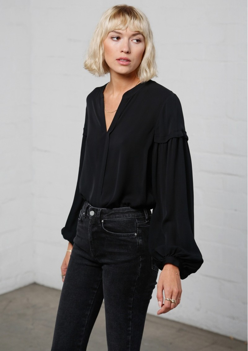 MAYLA Grace Blouse - Black main image