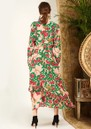 HAYLEY MENZIES Eden Midi Frill Dress - Eden Rose