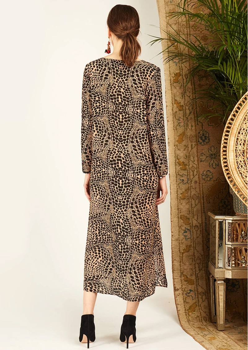Midi Tunic Dress - Leo Croc main image