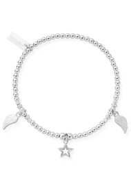 ChloBo Cosmic Connection Everyday Seeker Bracelet - Silver