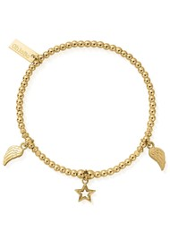 ChloBo Cosmic Connection Everyday Seeker Bracelet - Gold