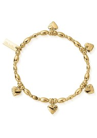 ChloBo Cosmic Connection Life Lover Bracelet - Gold
