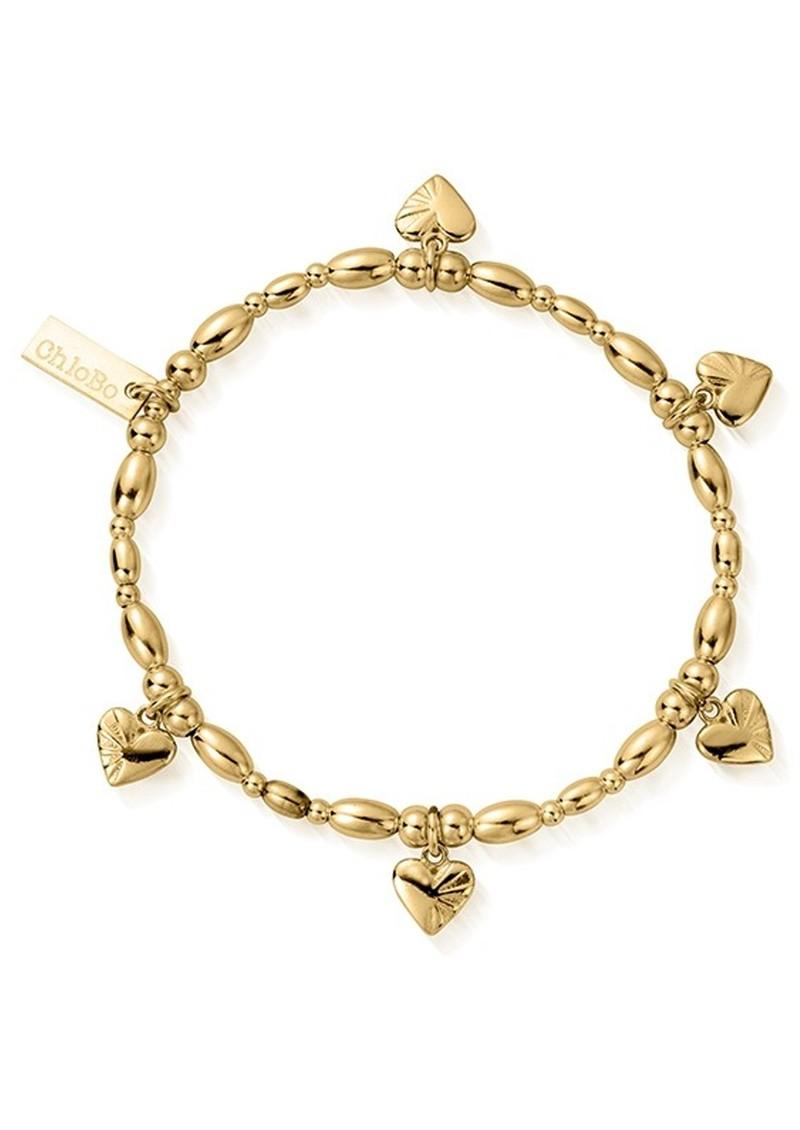 Cosmic Connection Life Lover Bracelet - Gold main image