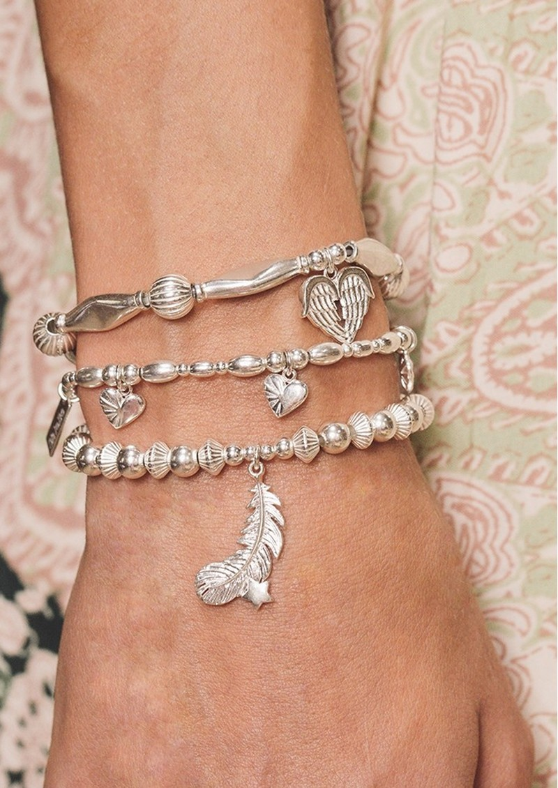 ChloBo Cosmic Connection Life Lover Bracelet - Silver main image