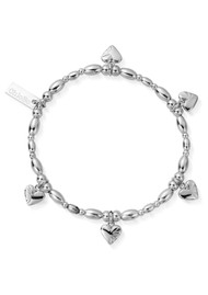 ChloBo Cosmic Connection Life Lover Bracelet - Silver