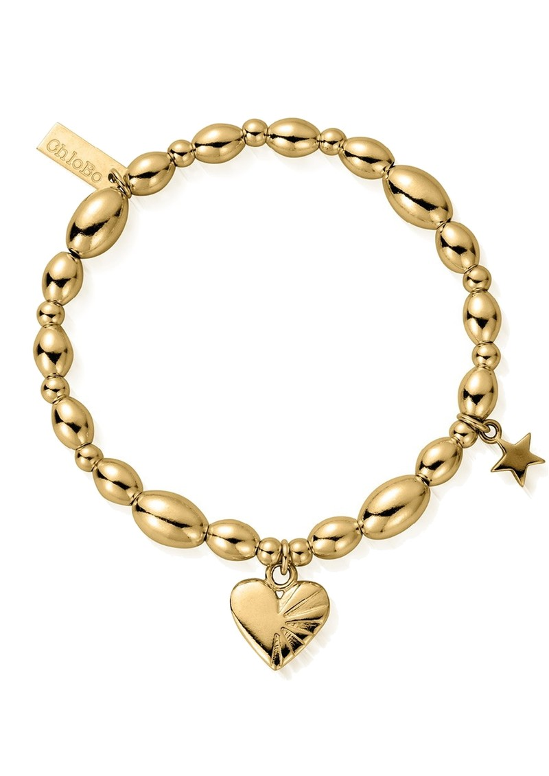 ChloBo Cosmic Connection Sacred Love Bracelet - Gold main image