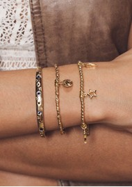 ChloBo Cosmic Connection Sacred Love Bracelet - Gold