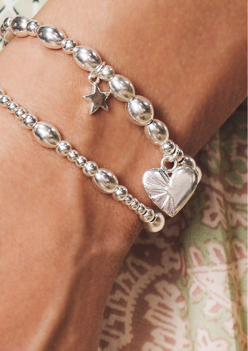 ChloBo Cosmic Connection Sacred Love Bracelet - Silver main image